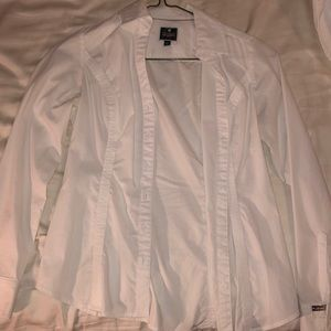 Fitted Express Button up Top